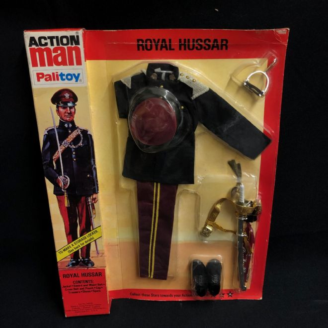 ACTION MAN - ROYAL HUSSAR - CARDED ORIGINAL (Ref3)